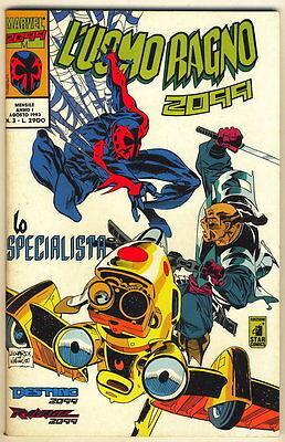 LUOMO RAGNO 2099 - 3 - LO SPECIALISTA STAR COMICS 1993