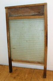Vintage washboard wooden Antique Kitchen Metal Retro Industrial