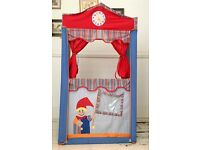 Puppet Theatre and 5 Puppets