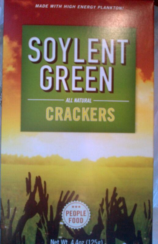 SOYLENT GREEN CRACKERS 4.4 OZ BOX 2011