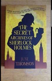 The Secret Archves of Sherlock Holmes, June Thomson