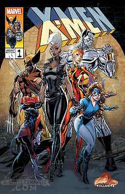 X-MEN GOLD 1 J SCOTT CAMPBELL RETRO VARIANT B NM