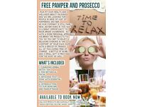 FREE PAMPER SESSION