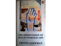 The presentation of self in everyday life. Erving Goffman