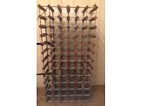 Industrial / rustic wine rack