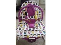 Mamas and Papas Buzz Tokyo Tea Party Bouncer Chair in box
