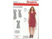 Simplictity E1653 Dress Pattern