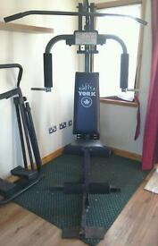 York multi gym