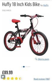 Kids 18inch bike.