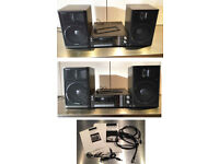 Technics Cassette with Radio and Speakers, excellent working condition