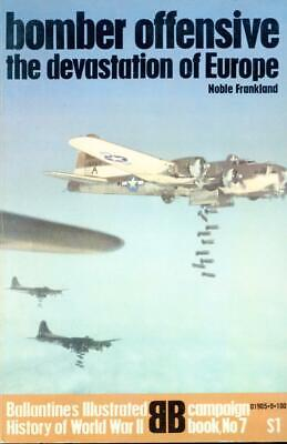BALLANTINE'S HISTORY OF WWII: BOMBER OFFENSIVE-CAMP, BOOK 7-1 ED 1970  2303N