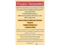Cello/ Piano/ music theory lesson