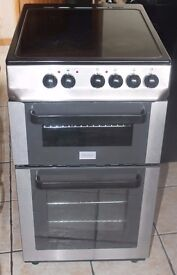 6MONTHS WARRANTY Zanussi 50cm, Stainless Steel electric cooker FREE DELIVERY
