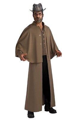 Herren Erwachsene Cowboy Kittel Jonah Hex Kostüm - Jonah Hex Kostüm