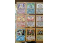 Pokemon cards full base set 1 and 2 *near mint* including charizard holos