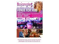 Experienced Caribbean Caterer required for Bojangles, a music venue, bar and lounge in Chingford