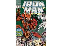 Iron Man #281 1st Cameo Of War Machine