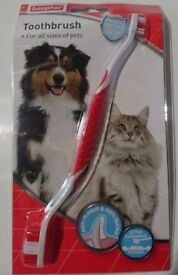 Beaphar Dog Toothbrush and Toothpaste (Unopened)