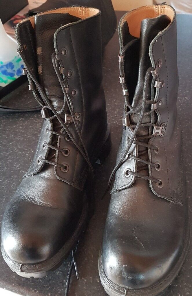 3fdc4846088 Black Military Combat Boots size 9L. (REDUCED)   in Plymouth ...