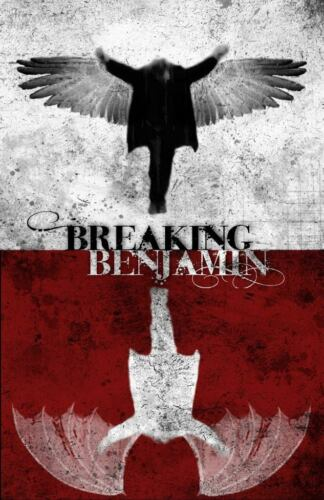 BREAKING BENJAMIN promo poster music poster / 19 x 12 inches