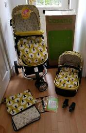 Brand new cosatto giggle 2 treet travel system pushchair