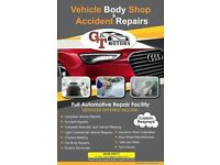 VEHICLE BODY-SHOP & ACCIDENT REPAIR CENTER! MOT & SERVICE WITH REPAIRS IN CARDIFF