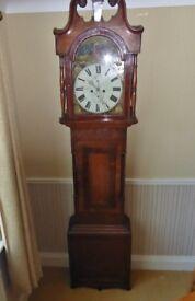 Grand Father / Long Case Clock - Antique