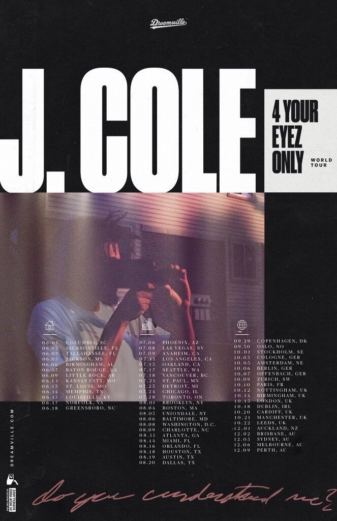 J.Cole *standing tickets* Nottingham Motorpoint Arena