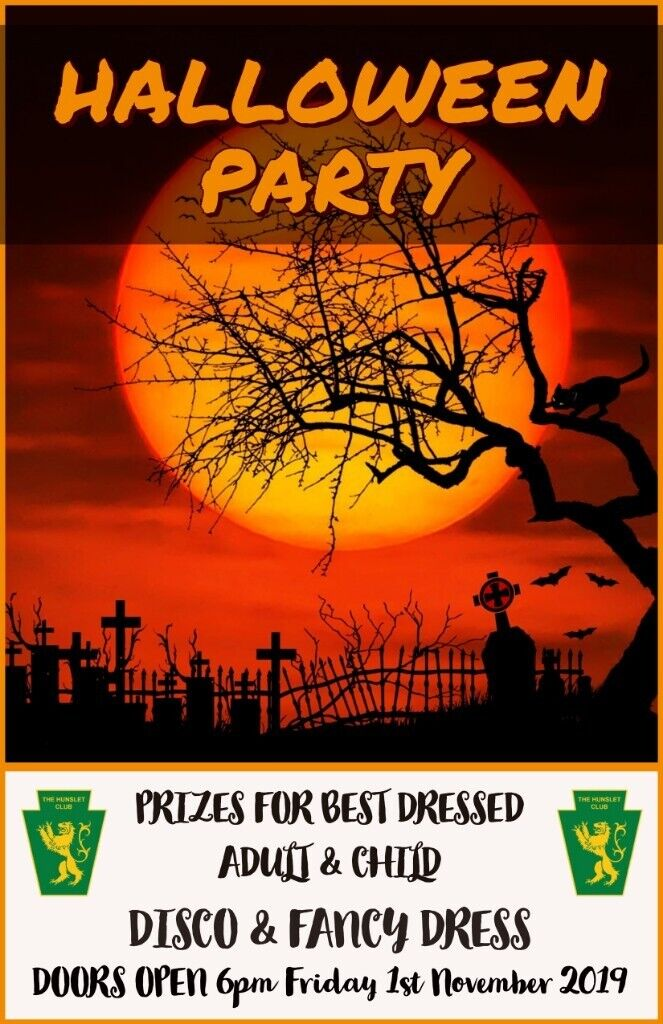 The Hunslet Club Halloween Party In Hunslet West