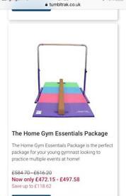 Tumble track gymnastics equipment