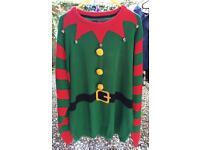 Men's Christmas Jumper Size L
