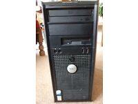 DELL OPTIPLEX 745 COMPUTER, WIN 7 PROF 64BIT