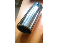 New 3 Inch Stainless Steel Exhaust Tip/Pipe/Trim/Tailpipe
