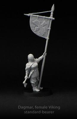 Brother Vinni Miniatures Dagmar Female Viking Standard Bearer