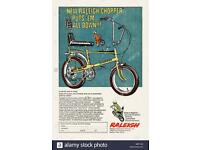 Raleigh chopper Mk1 / Mk2 wanted