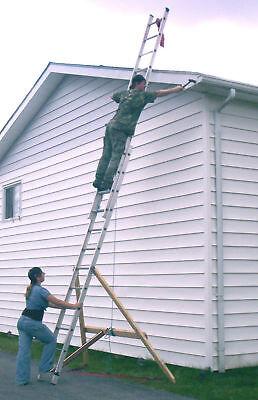 Ladder-adder Ladder Stabilizer Support Safety Device