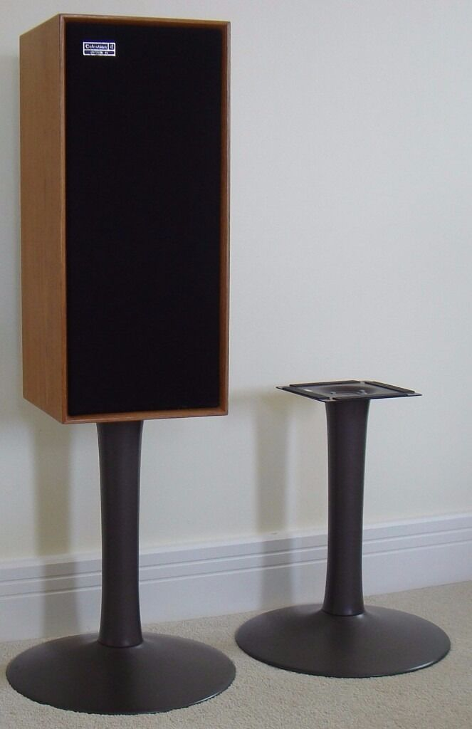 Stylish Speakers stylish pair of speaker stands (celestion ditton speakers not