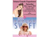 ARIANA GRANDE & TAYLOR SWIFT TRIBUTE NIGHT