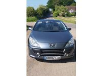 Peugeot 307cc - 06 plate - Very Good Condition - £1,800