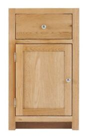 Left 1 Door 1 Drawer Cabinet with soft close drawers (SOK-004L)