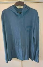 """NEW UNWORN """"FRENCH CONNECTION"""" designer cotton hoodie"""