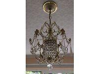 2 Pretty chandelier fittings