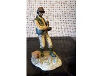 Ornaments - 'The Catch' (2004) from The Leonardo Collection - Fisherman Figurine H30cm