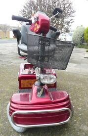 Mobility Scooter Shoprider Sovereign 4 as new condition