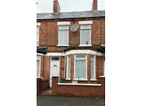 Two bed refurbished house for rent in Woodvale BT13