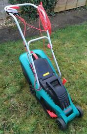 Bosch Electric Lawnmower with grass box