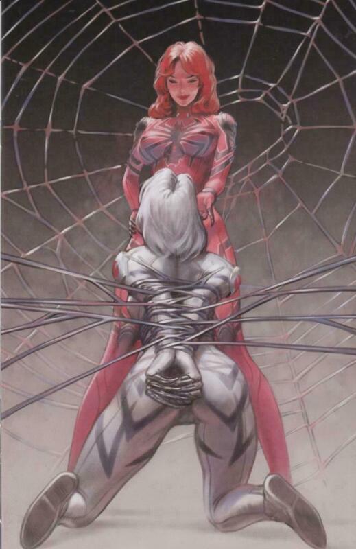 White Widow #4 Pocket Jacks Comics Virgin Cover