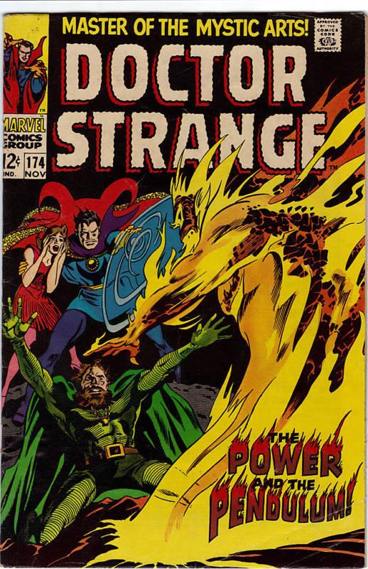 Doctor Strange #174  comic 1968
