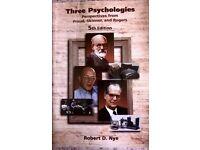 Three Psychologies, Freud, Skinner and Rogers