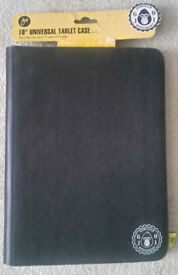 "Unused 10"" Universal Tablet Case With Stand"